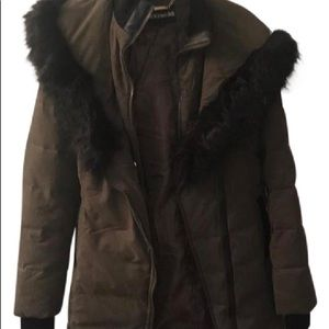 Express puffer/ ski coat